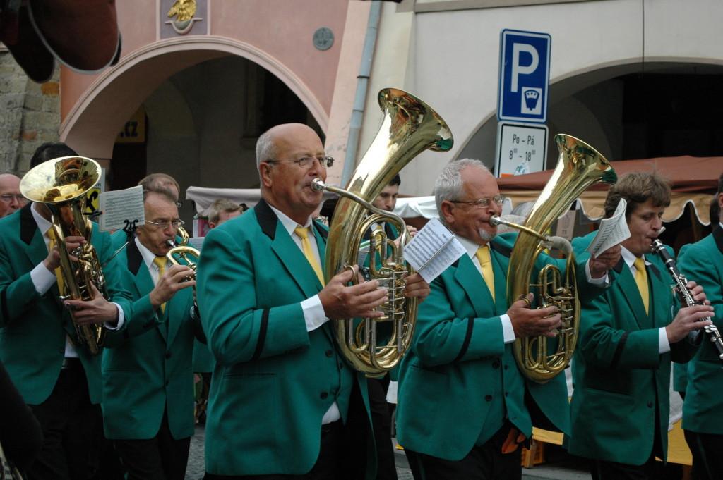 Pochodové hraní v Mladé Boleslavi