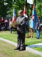 Pietní vzpomínka při příležitosti 70. výročí konce druhé světové války, Kostelec nad Labem